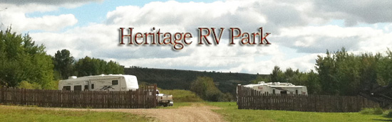 Heritage RV Park is now OPEN!